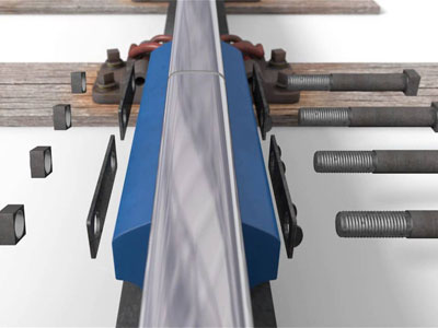 Insulated rail joints system
