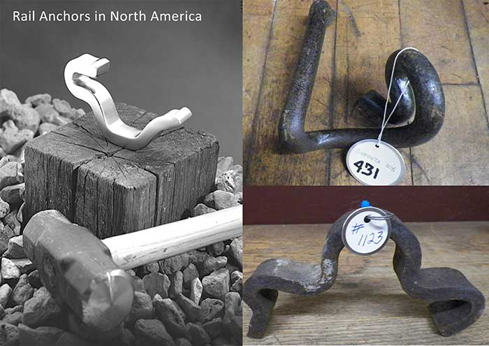rail anchors in north America