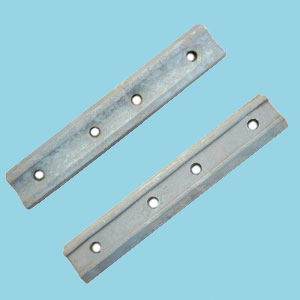 UIC54 rail joint - 4 holes